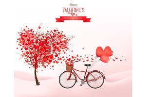 Valentine holiday background