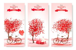 Valentine holiday backgrounds