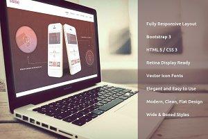Tone Responsive Bootstrap Theme