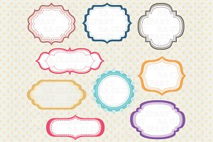 Digital frame ClipArt