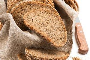 Multi cereals bread