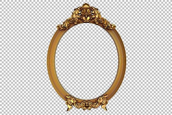 Hi Res Vintage Oval Frames Product Mockups Creative Market