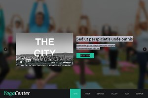Yoga Center  One Page Theme