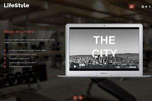 Gym Responsive One Page Theme