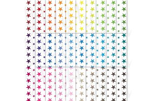 Star Shape Digital Paper