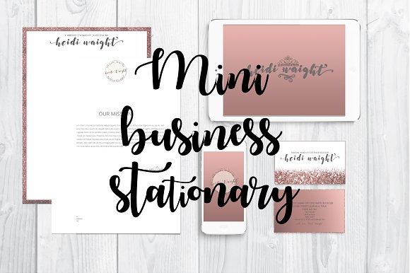 Business stationery   branding kit
