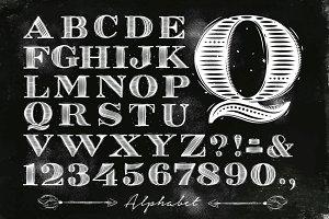 Vintage Font Fontline