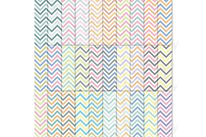 30 Set Chevron Digital Paper