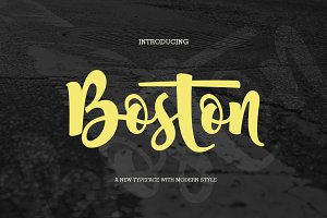 Boston (fonts duo)
