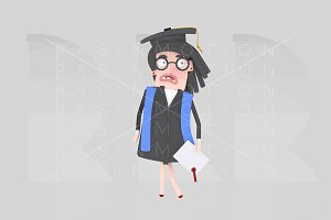 Worried graduate student