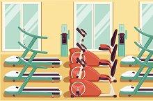 Gym Colorful 04