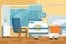 Hospital Room Illustrations
