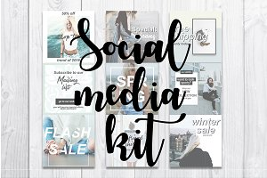 Social media kit | Instagram kit