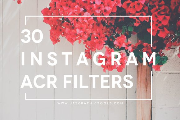 30 instagram filters acratn presets actions creative market ccuart Image collections