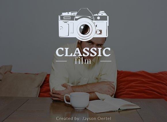 Classic Film Lightroom Presets