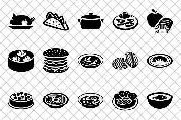 Food Icons Icons Creative Market