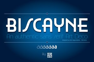 Biscayne Font Family