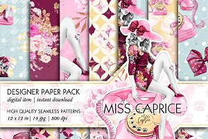 Miss Caprice Patterns
