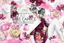 Miss Caprice Clipart