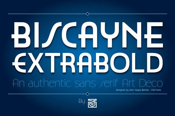 Biscayne ExtraBold