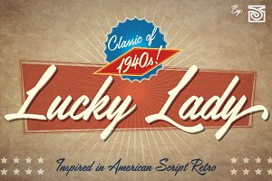 Lucky Lady Font