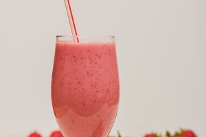 Homemade summer smoothie
