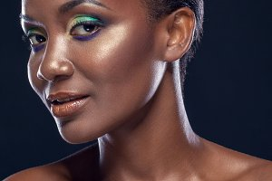 Beauty portrait of african girl