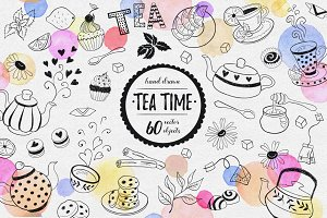 Tea time objects