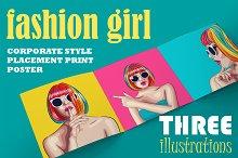 Fashion girl set