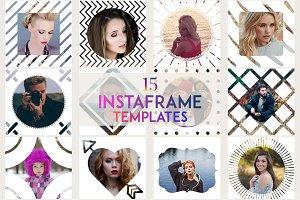 15 InstaFrame PSD Templates