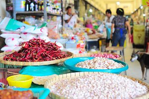 Food market, Thai