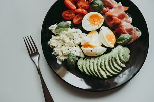 Delicious healthy breakfast