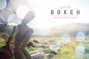 80 Natural Bokeh+Blurred Backgrounds