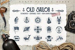 Old Sailor (Vintage Badges/part2)