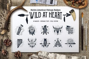 Wild at Heart (Vintage Badges/part1)