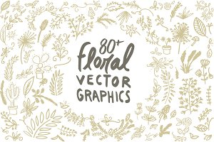 Floral Vector Graphic Pack