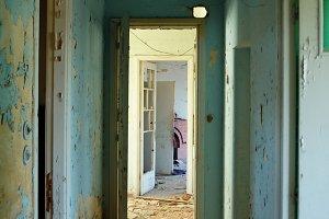 Peeling Hallway