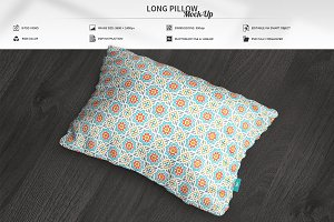 Long Pillow Mock-Up