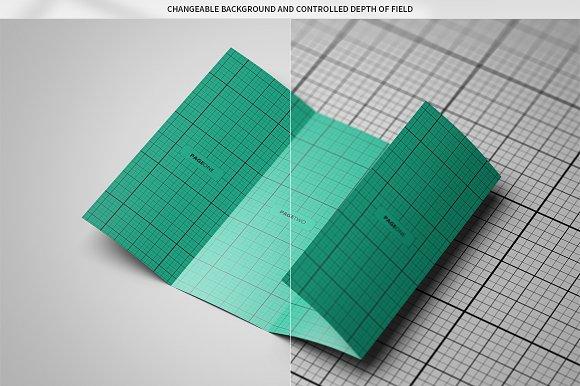 Double Gatefold Brochure MockUp Product Mockups Creative Market – Gate Fold Brochure Mockup