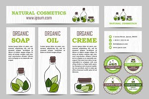 Natural cosmetics branding