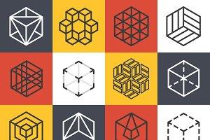 Architecture company logo templates