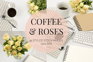 Coffee & Roses Neutral Photos