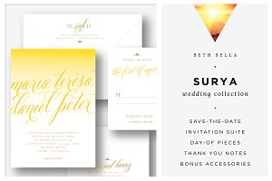 Surya Wedding Invitations