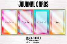 25 Journal Cards (Pocketful of Hope)