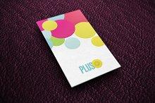 Plus Business Card