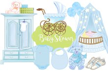 Baby Shower Baby Boy Patterns