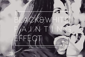 Black&White Paint Effect