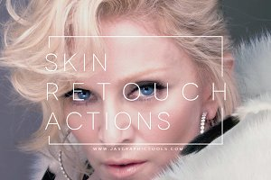 Skin Retouch Actions + Eyes Kit