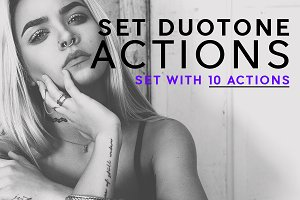 Duotone Set Actions