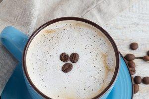 cappuccino,milkman,napkin